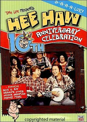 BRAND NEW RARE OOP TIME LIFE EXCLUSIVE HEE HAW 10TH ANNIVERSARY CELEBRATION DVD