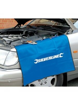 Car Wing Bodywork Protector Silverline Mechanics Cover Mat Vehicle Wing Cover