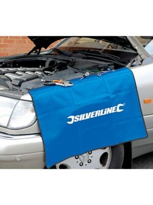 Silverline Car Wing Protector Mechanics Bodywork Cover Mat Vehicle Wing Cover