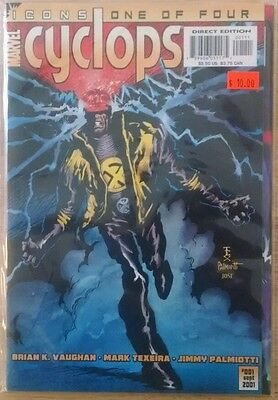 Complete Icons: Cyclops Limited Series #1 2 3 4 VF/NM First Prints Marvel X-Men