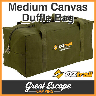 OZTRAIL CANVAS MEDIUM DUFFLE BAG Luggage MED