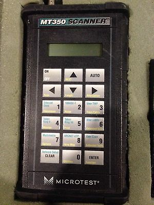 MIcrotest MT 350 Scanner With Case, Manual, Cables, And Super Injector