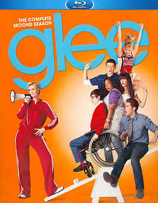 Glee: The Complete Second Season (Blu-ray Disc, 2011, 4-Disc Set) NEW SEALED
