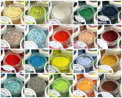 (65€-195€/100g) Rainbow Dust Puderfarbe Lebensmittelfarbe Tortendekoration