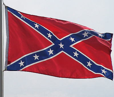 Rebel Confederate Flag 3 x 5 ft New banner with brass grommets