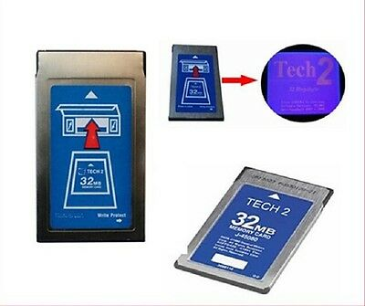 new 32MB memory card for tech 2 tech ii with only one brand software blank card
