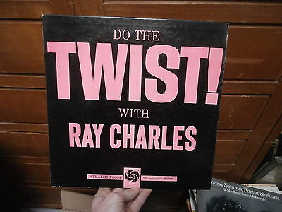 Lp Vinile Do The Twist With Ray Charles Atlantic – 8054  anno: 1961