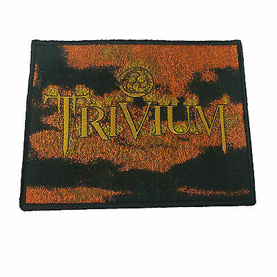 TRIVIUM Embroidered Rock Band Sew On Patch UK SELLER Patches