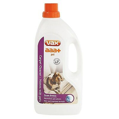 Vax aaa+ Pet Carpet Cleaning Solution 1.5 Litre