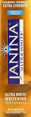 Janina Ultra White Extra Strength Whitening Toothpaste