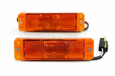 VW Golf MK1 MK2 Jetta MK2 Orange Front Indicators Repeaters Set Pair Left Right