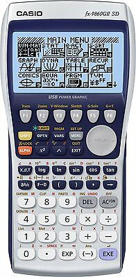 Calcolatrice Grafica Scientifica Professionale Casio Fx-9860Gii Sd