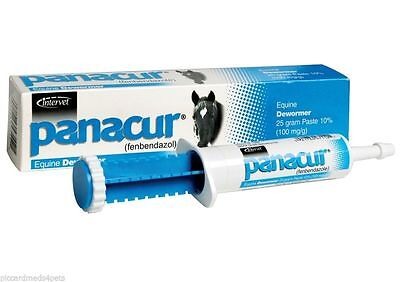 Panacur Equine Paste 10% Fenbendazole Horse Wormer 25 grams