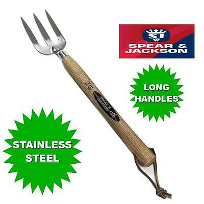 Spear & Jackson Traditional Stainless Steel Long Handled Fork 18""