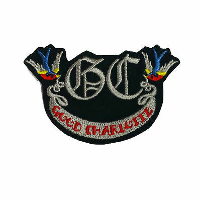 GOOD CHARLOTTE Embroidered Rock Band Iron On or Sew On Patch UK SELLER Patches