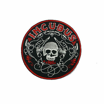 INCUBUS Embroidered Rock Band Iron On or Sew On Patch UK SELLER Patches