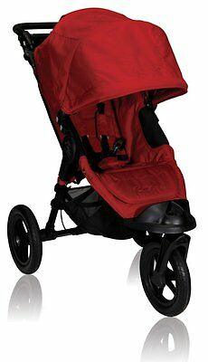 NEW Baby Jogger City Elite Single Stroller 2012 , Red * FREE SHIPPING