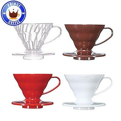 Hario V60 01 Coffee Dripper w/ Measuring Spoon 01 Size For 1-2 Cups VD-01