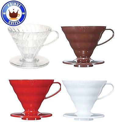 Hario V60 02 Coffee Dripper Pour Over For 1-4 Cups VD-02