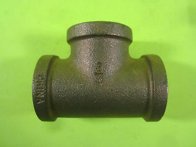 Watts Cast Female Pipe Tee -- A-858 -- New