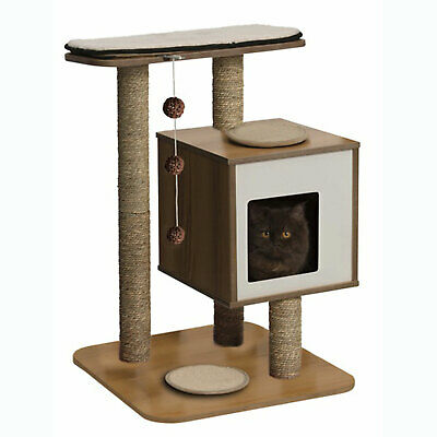 Hagen Vesper Cat Furniture Scratcher Bed Pole Base - Black or Red