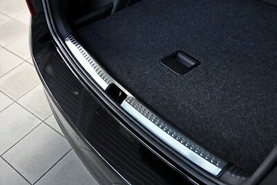 Inner Surface Stainless Steel Boot Edge Protector compatible with SKODA RAPID