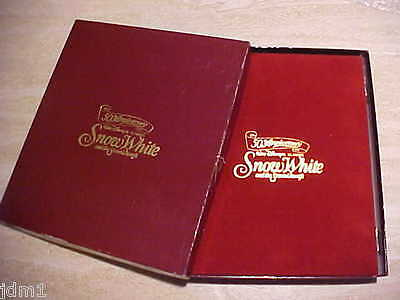 Disney Snow White ALBUM & BOX Only For Eleven Silver Coin Set  ~ TOUGH TO FIND!!