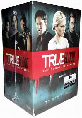 True Blood The complete seasons 1-7 (DVD, 33-Disc Set) New, Free shipping