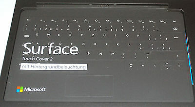 Microsoft Touch Cover 2 Tastatur für Surface PRO Surface PRO2 Deutsch/Schweiz