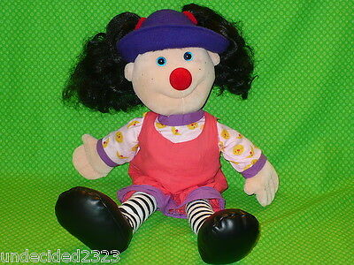 """20"""" LOONETTE the CLOWN DOLL The BIG COMFY COUCH Lunette 1995 Commonwealth Toys"""
