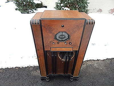 1937 Stromberg-Carlson 140-L Shortwave/Broadband Works Local Pick Up Only