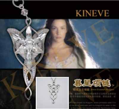 The Lord of the Rings Magic Arwen Evenstar Vintage Costume Party Chain Necklace