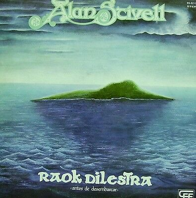 Alan Stivell-Raok Dilestra Lp Vinilo 1977 Spain Excellent Cover Condition-
