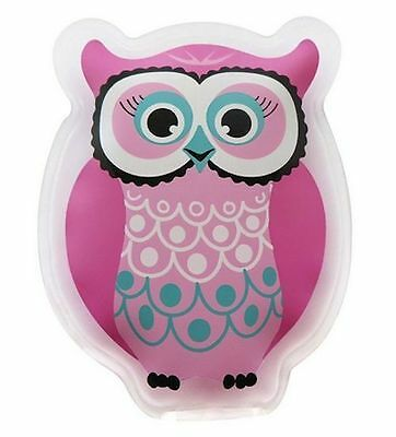 Coolit Kids Ice Cold - Hot Pack Injury Bump Buddy Reusable Cool It Owl Brand New