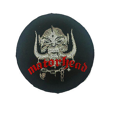 MOTORHEAD Embroidered Rock Band Sew On Patch UK SELLER Patches