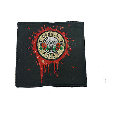 GUNS N ROSES Embroidered Rock Band Sew On Patch UK SELLER Patches