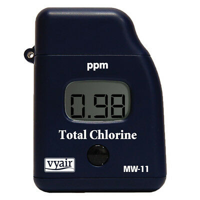 Milwaukee MW11 TOTAL Chlorine Tester LCD Drinking Water, Ponds, Pools & Spas