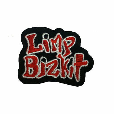 LIMP BIZKIT Embroidered Band Iron On or Sew On Patch UK SELLER Patches