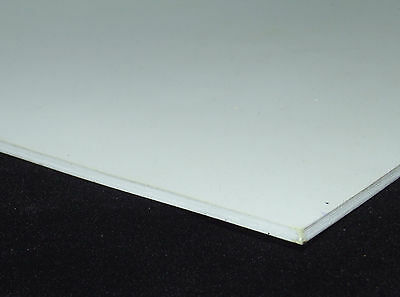 White Food Quality Solid Rubber Sheet Various Thicknesses & Sizes Available