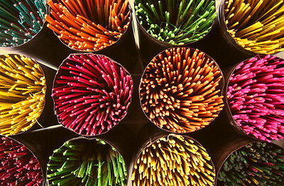 Incense Sticks Coloured Economy Stick x 200 Indian Hand Rolled-All Pre Packed