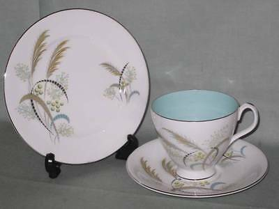 Royal Albert Festival Trio Tea Cup Saucer & Side Plate