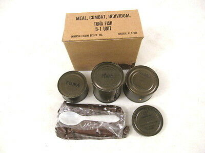 Late Vietnam Era US Army Issused - C-Rations Boxed Meals - from Unopened Case