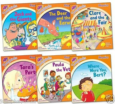 New set x 36 songbirds stage 1 2 3 4 5 6 oxford reading tree new set of 6 x oxford reading tree songbirds stage 6 fandeluxe Gallery