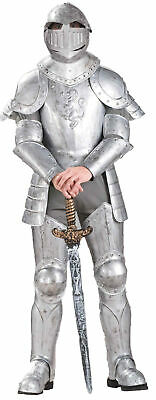 Knight in Shining Armour Adult Mens Costume Medieval Theme Party Halloween