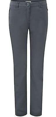 Craghoppers Kiwi Pro Stretch Trousers, Womens Walking Trousers.  Colour Graphite