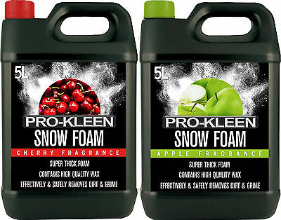 Genuine Pro Kleen Pressure Wash Shampoo Snow Foam 10L Car Cleaner FAST DISPATCH