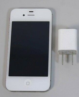 Very Good Used White Apple iPhone 4S 16GB Unlocked GSM AT&T T-Mobile Metro A1387
