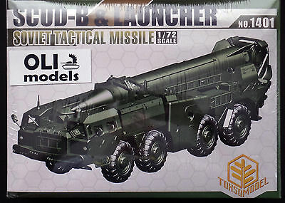 1/72 SCUD-B & Launcher Soviet Tactical Missile - TOXSO *1401*