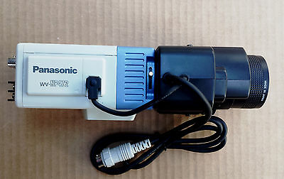 Panasonic WV-NP472 Network Security Color Camera with TV Zoom Lens WV-LZ81/6A