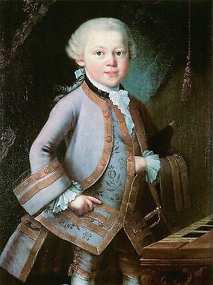 POSTER PRINT PAINTING PORTRAIT KRAFFT COMPOSER WOLFGANG AMADEUS MOZART SEB589